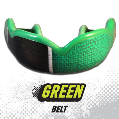 Damage Control Mouthguard Green Belt - Takedown Distribution