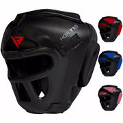 RDX Head Gear Martial Arts with Face Guard - Takedown Distribution