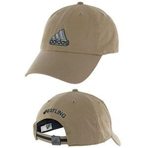 Adidas Apparel Hat Ultimate Wrestling Khaki - Takedown Distribution