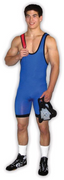 Matman Singlet Wrestling Mens Mat-Tex Reversible Singlet - Takedown Distribution