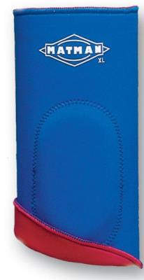 Matman Knee Pad Reversible Royal Blue -Red - Takedown Distribution