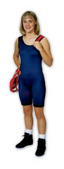 Matman Womens Mat-Tex Reversible Singlet - Takedown Distribution