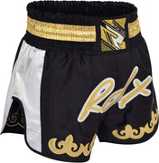 RDX Shorts Muay Thai R7SB Black - Takedown Distribution
