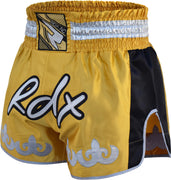 RDX Shorts Muay Thai R8Y Gold - Takedown Distribution