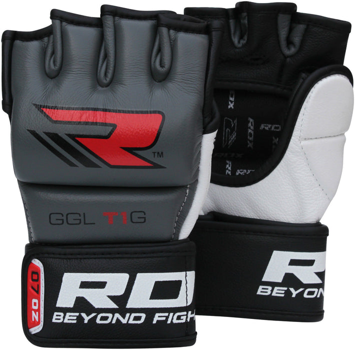 RDX Gloves Grappling MMA GGLT1  Gray - Takedown Distribution