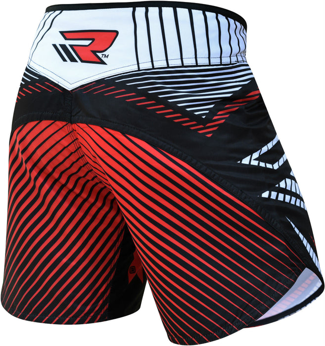 RDX Shorts MMA FIGHT TIME R1 Red - Takedown Distribution