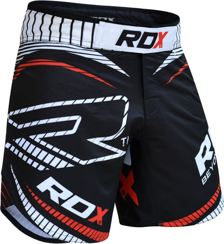 RDX Shorts MMA FIGHT TIME R1 Red