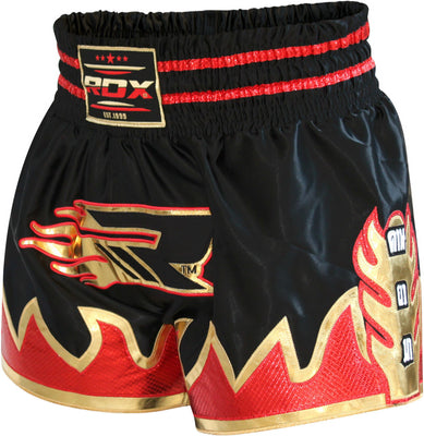 RDX Shorts Muay Thai R2 Black - Takedown Distribution