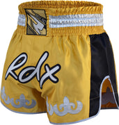 RDX Shorts Muay Thai R5 Gold - Takedown Distribution