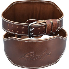 "RDX Belt Weightlifting Leather 6"" BROWN"