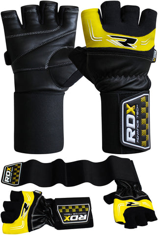 RDX Gloves Weightlifting Pro lift