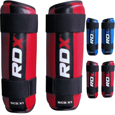RDX PROTECTION ShinGuards SEMI Contact Foam SCXS-1 BLUE - Takedown Distribution