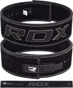 "RDX Belt Weightlifting Leather 4"" WBL-4LB - Takedown Distribution"