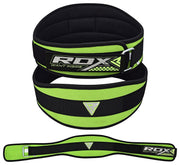 "RDX Belt Weightlifting Contour  6"" WBN-9CGN - Takedown Distribution"