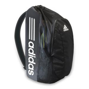 Adidas Gym Bag Wrestling Black and White - Takedown Distribution