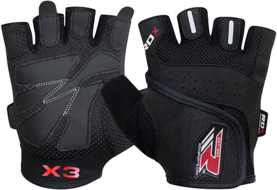 RDX Gloves Weightlifting WGLX3 - Takedown Distribution