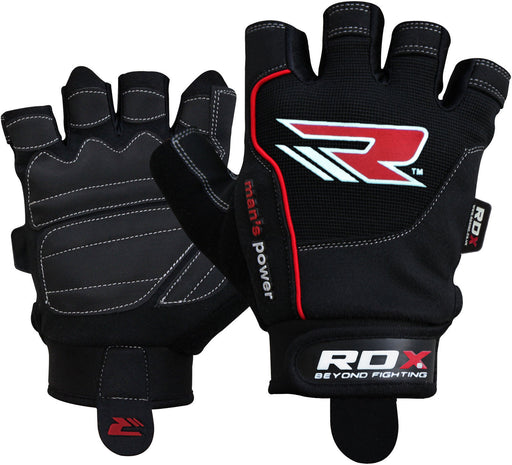 RDX Gloves Weightlifting Gel Amara Mesh WGLX4 - Takedown Distribution