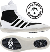 Adidas Shoe Wrestling Combat Speed 5  White - Takedown Distribution