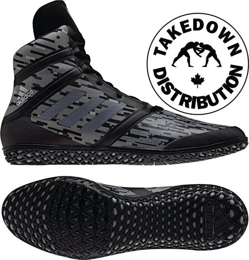 Adidas Shoe Wrestling Black Digital Impact - Takedown Distribution
