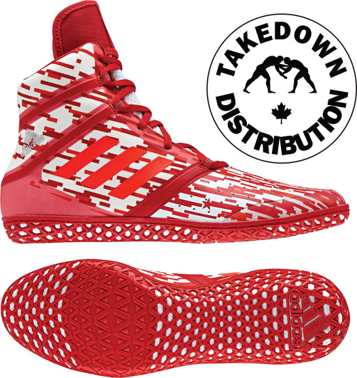 Adidas Shoe Wrestling Red Digital Impact Red - Takedown Distribution