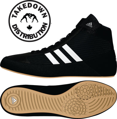 Adidas Shoe Wrestling HVC Kids Youth Black - Takedown Distribution