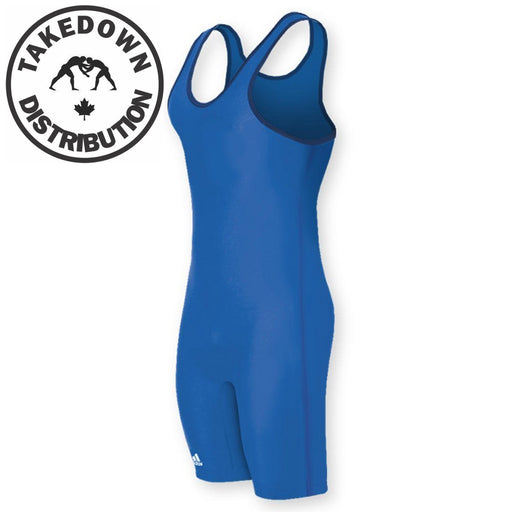 Adidas Singlet Mens Solid Colour Singlet Royal - Takedown Distribution