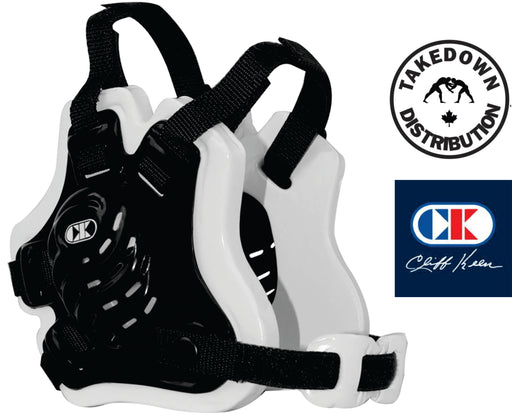 Cliff Keen F5 Tornado Headgear Black -White - Takedown Distribution