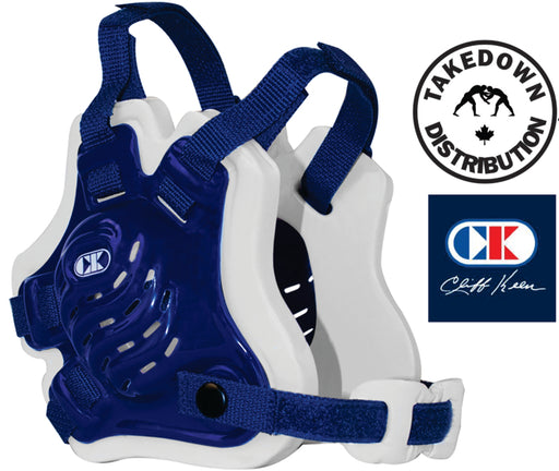 Cliff Keen F5 Tornado Headgear Royal Blue-White - Takedown Distribution