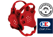 Cliff Keen F5 Tornado Headgear Red-Red - Takedown Distribution