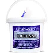 Defense Body Wipes 400 ct Tubs with Hydroknit Technology