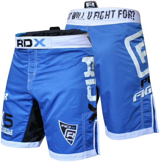 RDX Shorts MMA FIGHT TIME  X5 Blue - Takedown Distribution