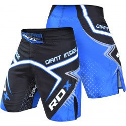 RDX Shorts MMA X5 Black - Takedown Distribution
