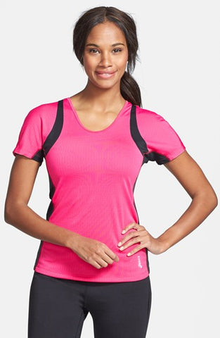 Asics Apparel Top Womens ABBY Short Sleeve Tee Magenta