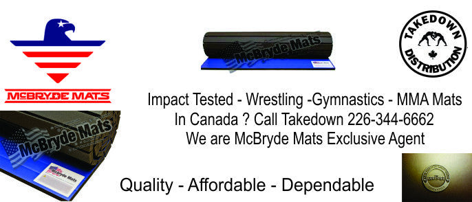 McBryde mats in Canada is Takedown