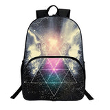HEYFAIR Kids Galaxy Pattern School Backpack Students Bags Boys Girls Travel Daypack