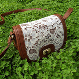 HEYFAIR Crossbody Bag Purse with Lace for Women Girls