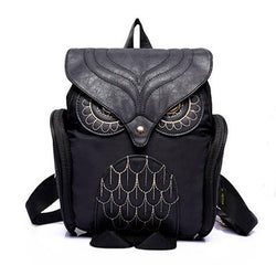 HEYFAIR Owl Backpack Casual Daypacks Bags