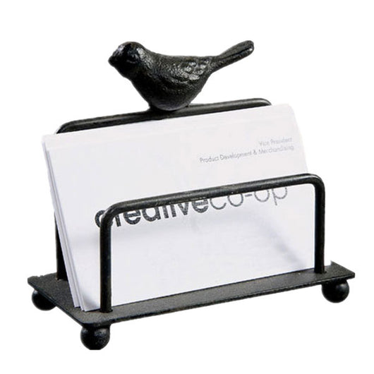 HEYFAIR Metal Bird Business Card Holder