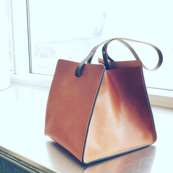 "Wickets & Craig "" English"" Bridle Tote"