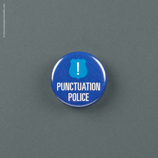 Punctuation Police Magnet - Yellow Pencil Studio