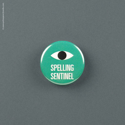 Spelling Sentinel Magnet - Yellow Pencil Studio