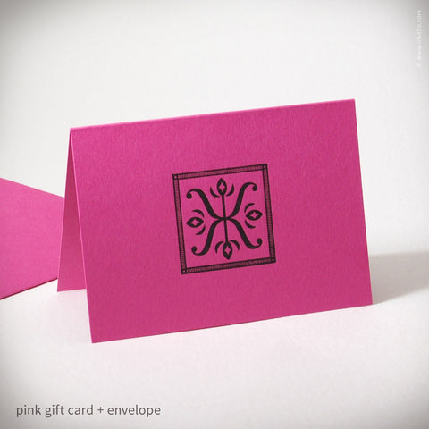 Illuminated X Gift Card (#179)