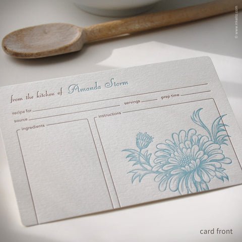 Mum Personalized Recipe Cards (#233)