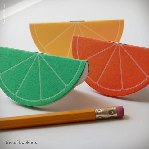 Citrus Slice Mini Booklets (#270)