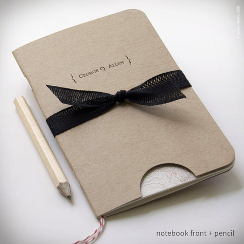 Personalized Map Booklet + Pencil (#299)