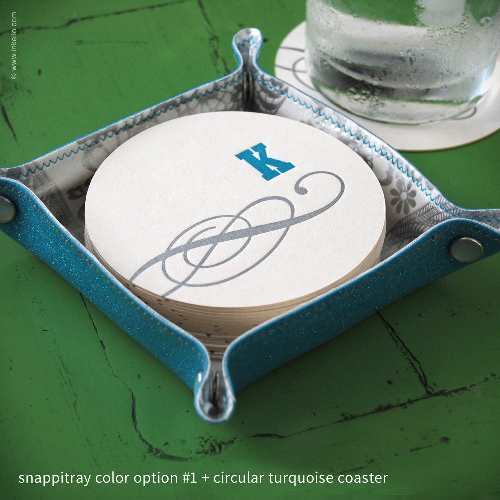 Sip-in-Style Holiday Coaster + Snappitray Set (#301)