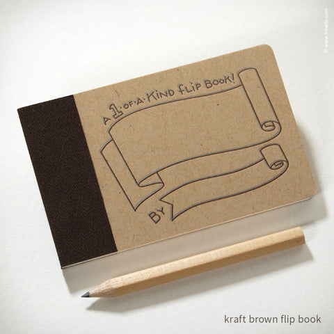 Draw-Your-Own Flip Book + Pencil (#316)