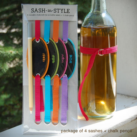 Sash-in-Style Bottle Labels {#327} Bottle Sashes - Inkello Letterpress