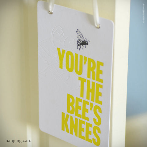 Bee's Knees Hangable Greeting Card (#332)