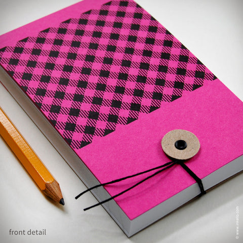 Gingham Notepad (#340)